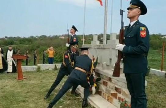Кладбище героев Румынской армии в Молдове