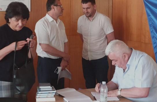 Николай Терзи презентовал книгу мемуаров «Жизнь и память»